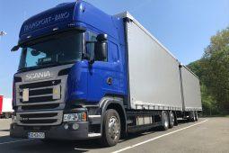 Volumenski prevozi po Sloveniji in Evropi