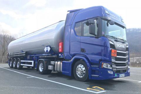Prevozi ADR - Prevozi nevarnega blaga po Evropi in po Sloveniji